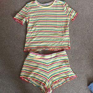 Zara Italy knit set